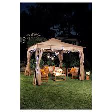 big w patio by jamie durie garden gazebo 3m x 3m save 100 298