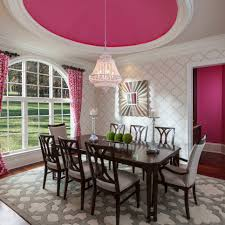 Dining Room Chandeliers Transitional 20 Pink Chandelier Designs Decorating Ideas Design Trends