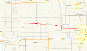 Map Of Cedar Falls Iowa Iowa Highway 57 Wikipedia