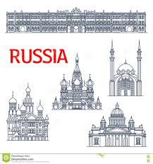 Russia Travel And Tourism Travel by Russia Tourism And Travel Stock Vector Image 43268721