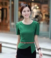 blouse wanita blouse wanita bahan sifon warna hijau 200k