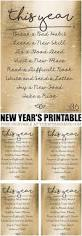 New Year Decoration Printable by The 25 Best New Year U0027s Resolutions Ideas On Pinterest New Year