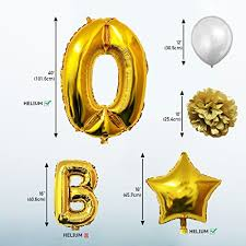 birthday balloons for men 50th birthday balloons birthday decoration kit by vous happy