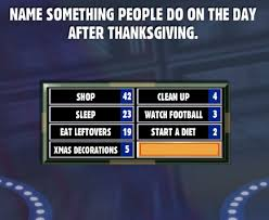 name something do on the day after thanksgiving family