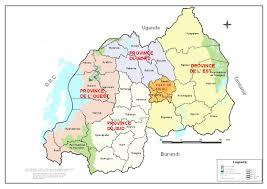 Map Of Rwanda Good In Rwanda Map Of Rwanda New