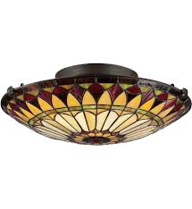 Stained Glass Light Fixtures Dining Room by Bedroom Lighting Flush Mount Lighting Lamps Com