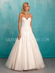 a line wedding dresses strapless sweetheart tulle and lace simple a line