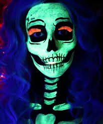 glow in the makeup 10 spooky skeleton makeup ideas you should wear this