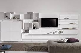 meuble tv avec bureau meuble tele pour chambre 92 ides chambre coucher moderne avec une