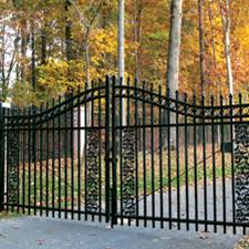ornamental swing gates privacy security iron world fencing