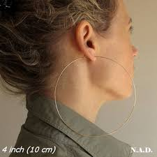 hoops earrings thin lightweight hoops 14k gold filled large hoop earrings