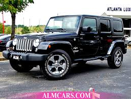 Used Jeep Wrangler Unlimited 2016 Used Jeep Wrangler Unlimited 4wd 4dr At Alm Newnan Ga