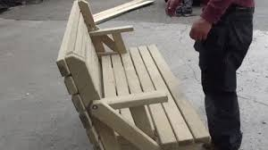 Folding Picnic Table To Bench Folding Picnic Table X Post R Amazontoprated Gifs