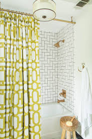 bathroom amazing use ceiling mounted shower curtain rods as your