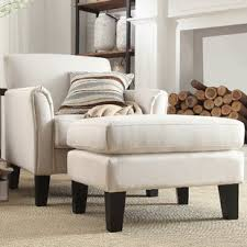 chairs with ottomans for living room chair ottoman sets you ll love wayfair