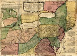 Map Of New England Colonies by Virginia Colony
