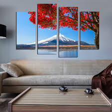 Home Decor Wall Paintings Online Get Cheap Mountain Scenery Paintings Aliexpress Com