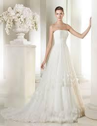brautkleid pronovias calais style st strapless princess dress calais