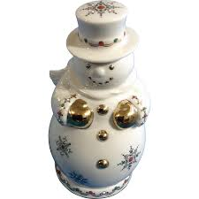 discontinued lenox china jewels collection snowman sku 6238190