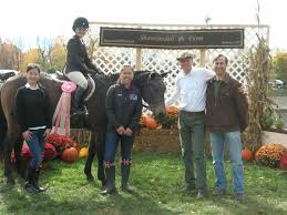 winning in the hunters equitation and showjumpers with a backyard