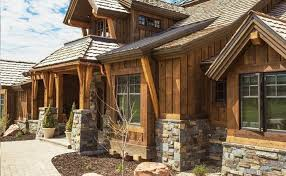 log cabins exterior pictures exterior finishes your log home s