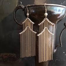 pagoda earrings pagoda earrings white pearl estyn hulbert
