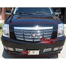 2010 cadillac cts grill amazon com 2007 2010 cadillac escalade chrome grille grill kit