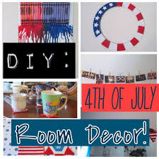 4th of july home decorations diy simple u0026 easy 4th of july room decor youtube