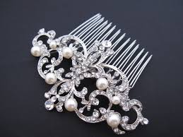 pearl hair accessories bridal hair comb wedding hair comb wedding comb pearl hair
