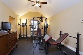 renew home gym room color ideas with vivid and fresh paint