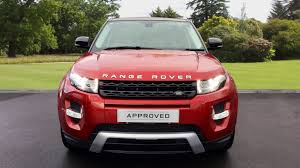 maroon range rover evoque used land rover range rover evoque 2 2 sd4 dynamic 3dr diesel