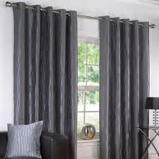 Lined Grey Curtains Crinkle Lined Eyelet Curtains Silver Ideas For Bedroom