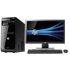 hp ordinateur bureau ordinateur de bureau hp pro 3500 mt ecran 20 d5s83ea iris