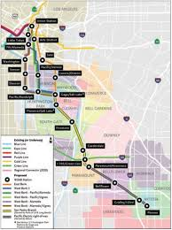 Greater Los Angeles Map by Metro Exploring New Options For West Santa Ana Branch Urbanize La