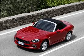 fiat spider white fiat 124 spider europa celebrates history with exclusive details