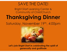 thanksgiving date 2016 events community of christchurch
