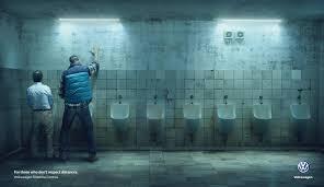 volkswagen ddb urinals печатная реклама volkswagen ddb buenos aires