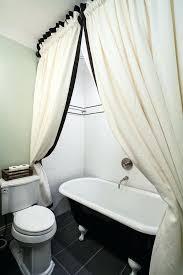 Design Clawfoot Tub Shower Curtain Rod Ideas Clawfoot Bathtub Shower Curtain Rub A Dub Dub Shower Curtains For