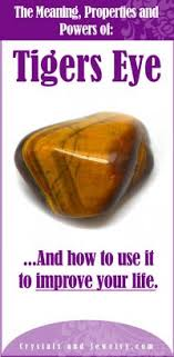 tigers eye is truly powerful when used correctly discover how