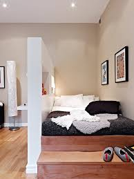 Studio Apartment Bed Ideas 22 Inspiring Small Bedroom Design And Decorating Ideas Divider Bed