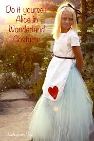 Alice Wonderland Costume Halloween Diy Halloween Costume Alice Wonderland