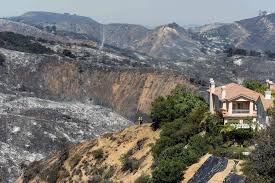 Wildfires California Current by Drought Sparks Larger Wildfires Throughout California La Times