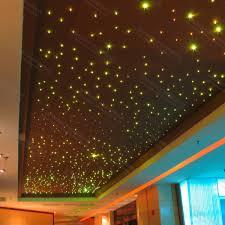 fiber optic light strands starry sky fiber optic star ceiling kit lighting 200 strands 0 75mm