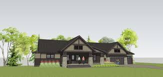 Building A Craftsman House by Simply Elegant Home Designs Blog New Twist On A Craftsman Home Plan