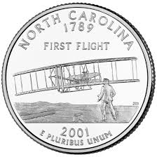 First State Quarters Of The United States Collectors Map by North Carolina State Quarter U S Mint