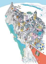 Cinque Terre Map Carlo Stanga