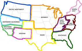 Map Of The Usa With States by United States Of America Map 1961 And Roundtripticket Me