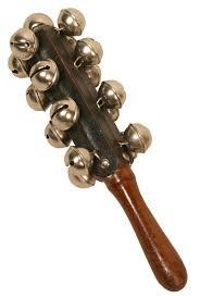 dobani 11 jingle sleigh bells 13 on wood handle age 3