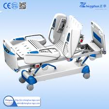 Hill Rom Hospital Beds Multifunction Electric Sick Bed Quick Realse For Emergency Cpr