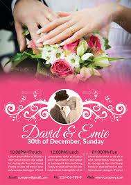 wedding flyer wedding flyer 25 free psd ai vector eps format